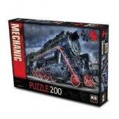 Ks Games Puzzle Locomotıve Gıuseppe Rosatı 200 Parça