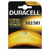 Duracell 362 361 Saat Pili Silver Oxide