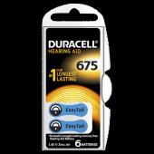 Duracell 675 Numara Kulaklık Pili 6lı Paket