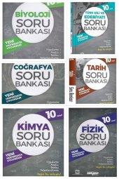 10.sınıf Soru Bankası Seti 6 Kitap Ankara Yayınları