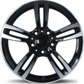 Emr 5480 07 8,5x20 Pcd 5x120 Et38 Black Polished Jant (4 Adet)