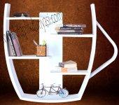 Dekoratif Fincan Tasarım Kitaplık