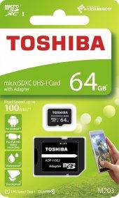 Toshiba 64gb M203 Exceriatm Microsdxc Uhs I Class ...