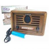 Everton Vt 3050 Bluetooth Nostalji Müzik Kutusu Us...