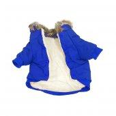 Köpek Elbisesi Xl Boy Mavi