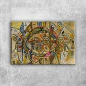 Richard Pousette Dart Col Yagli Boya Klasik Sanat ...