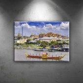 Bangkok Thailand Dünyaca Ünlü Şehirler Dekoratif K...