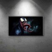 Venom Süper Kahramanlar Dekoratif Kanvas Tablo