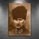 Mustafa Kemal Atatürk Portre 4 Kanvas Tablo