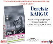 Proplan Delicate Kuzu Etli Kedi Maması Açık 3 Kg 1000gr X 3 Adet