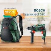 Bosch Easy Impact 570 Darbeli Matkap Çanta Hediyel...