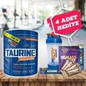 Bıgjoy Taurine Powder 300 Gr + 4 Hediye