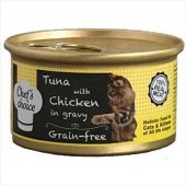 Chefs Choice Gravy Soslu Balıklı Tavuklu Kedi Yaş Mama 80 Gr