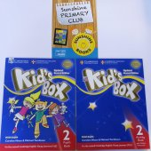 Cambridge Kids Box 2 Pupils Book + Activity Book + Online Code