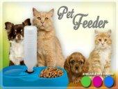 Finepet Kedi Ve Köpek İçin Otomatik Su Ve Mama Kabı