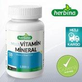 Herbina Multivitamin Mineral 200 Tablet X 1250 Mg