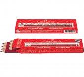 Faber Castell 1410 Kırmızı Kopya Kalemi Kırmızı Kurşun Kalem 12ad