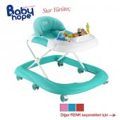 Babyhope Star Yürüteç Yürüme Arkadaşı Örümcek Bebek Müzikli Oyunc
