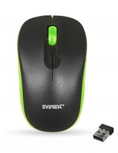 Everest Sm 165 Siyah Yeşil 2.4ghz Kablosuz Mouse