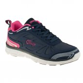 Jump 11882 Lacivert Fuşya Kalın Taban Bayan Spor Ayakkabı