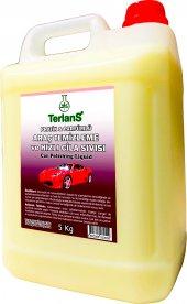 Terlans Pratik & Parfümlü Araç Temizleyici Hızlı Cila Seti 5 Kg