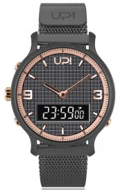 Upwatch Double Steel Gun Metal Rose Db.02.03
