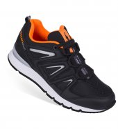 L 6208 Siyah Çocuk Ortopedik Sneakers Ayakkabı