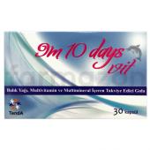9m 10 Days Vit Balık Yağı Multivitamin Ve Multimineral 30 Kapsül