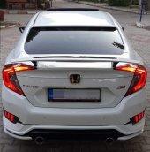 Honda Civic Fc5 2016 2019 Sı Spoiler Beyaz Boyalı