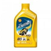 Shell Advance 4t Ax5 15w50 Motor Yağı