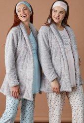Baha 3426 Sabahlıklı Lohusa Pijama Takım