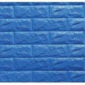 Kendinden Yapışkanlı Duvar Paneli Lacivert