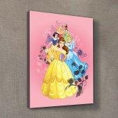 Prensesler 1 30x40 Cm Kanvas Tablo