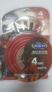 Ben Audio 4ga Kalın Profesyonel Set Kablosu