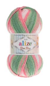Alize Baby Best Batik El Örgü İpliği