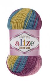 Alize Cotton Gold Batik El Örgü İpliği