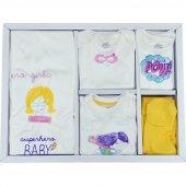 Baby Corner 8107 Kız Bebek Hastane Çıkışı, 10lu Set Bebek Hastane Çıkışı