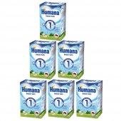Humana 1 Devam Sütü 600 Gr. 6lı
