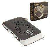 Magbox Vıp Full Hd Çift Usb&#039 Li Mini Uydu Alıcısı Tkgs&#039 Li
