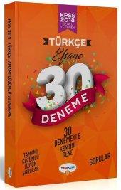 Yediiklim Yayınları 2018 Kpss Türkçe Tamamı Çözümlü Efsane 30 Deneme