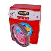Pilli Oyuncak Çamaşır Makinesi Sesli Ve Işıklı