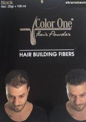 Color One Siyah Black Bay Bayan Saç Dolgunlaştırıcı Topik