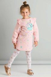Cute Donut Kız Çocuk Elbise