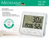 Orjinal Medisana Hg 100 60079 Nem Ölçer Isı Ölçer Oda İçi Nem Ölçer Termometre Dijital Termometre Nem Göstergesi