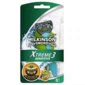 Wilkinson Xtreme3 Sensitive 8li Kullan At Tıraş Bıçağı