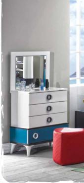 Aynalı Şifonyer, Express Mavi Genç Odası, A. Şifonyer, Çamaşırlık