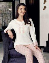 şahinler Bayan Pijama Takımı Desenli Mbp23716 1
