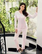 şahinler Bayan Pijama Takımı Açık Pembe Mbp23719 1