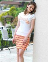 Mel Bee Bayan T Shirt Ve Etek Takım D 16
