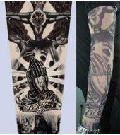 Tattoo Haç Motifli Giyilebilir Dövme